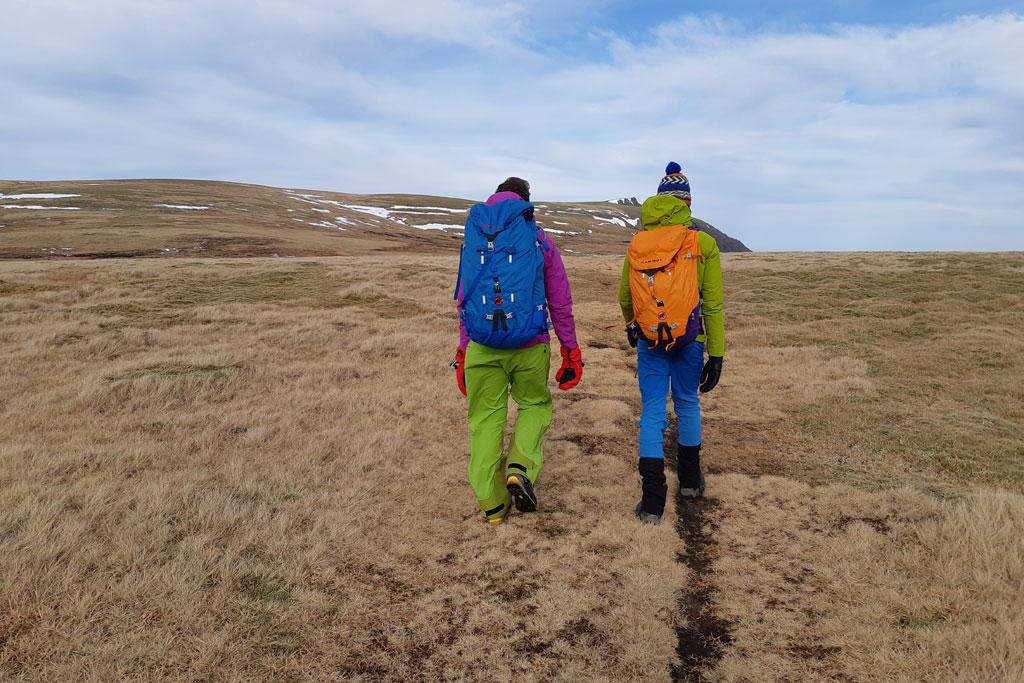 wandelen hoogvlakte cairngorms schotland