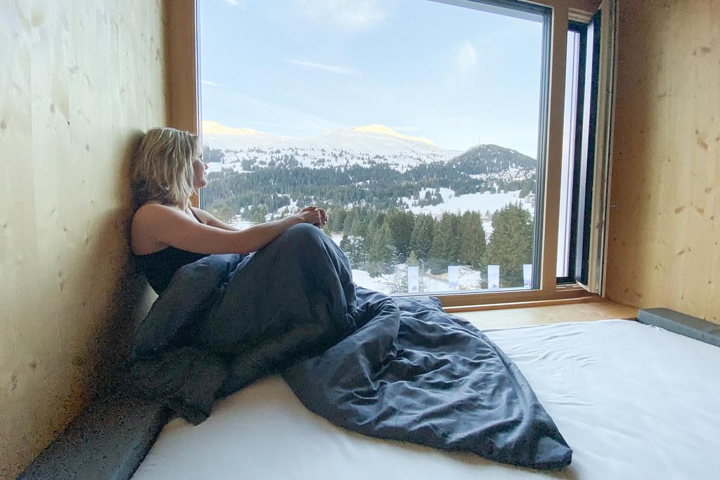 Hotel voor de wintersport