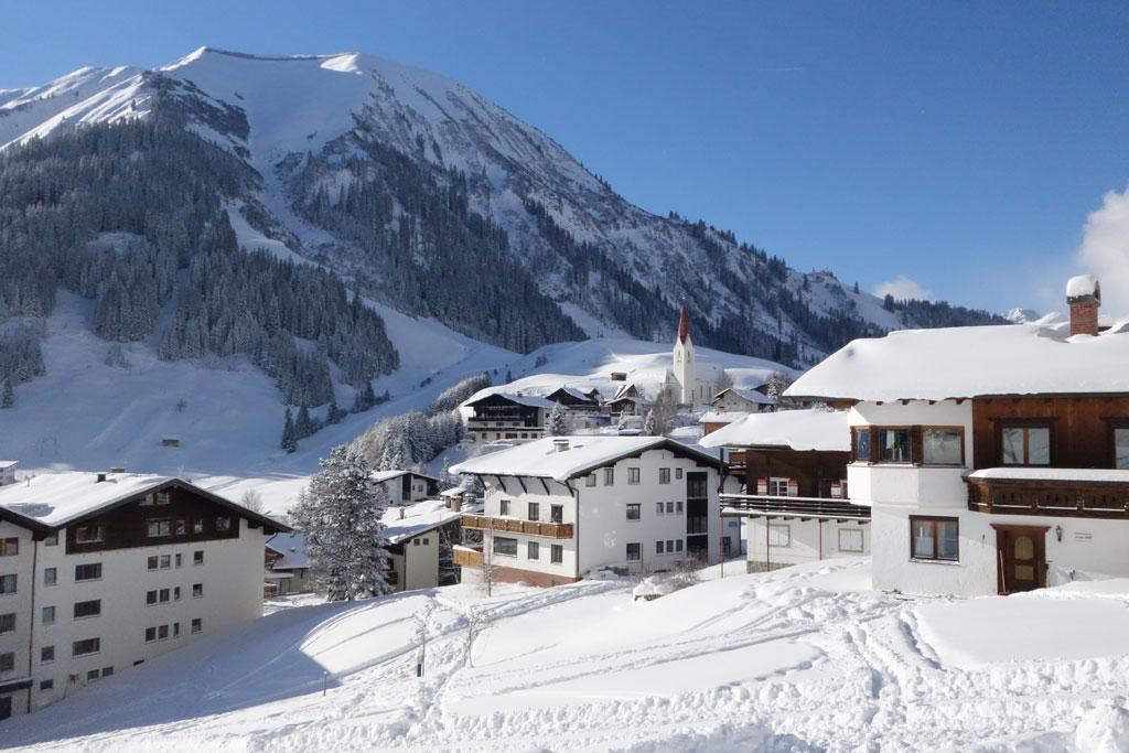 Kleine skigebieden Oostenrijk Berwang