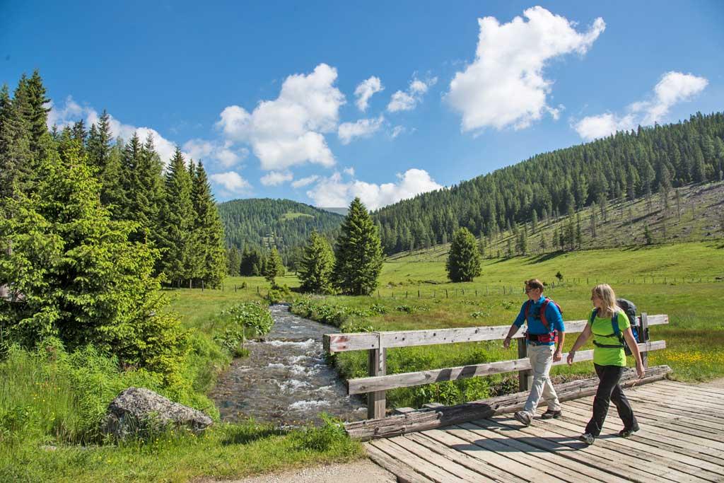 Wandelen op de Nockbergetrail