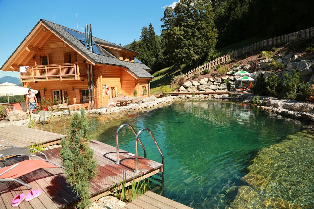 Hüttendorf Schladming met zwemvijver