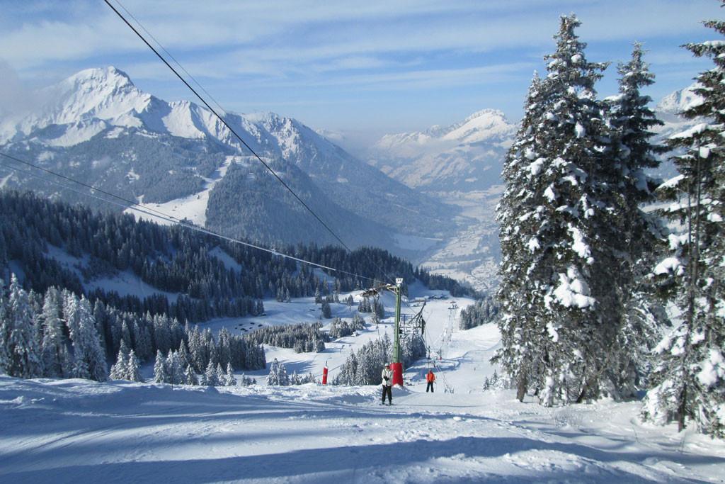 les portes du soleil ski area