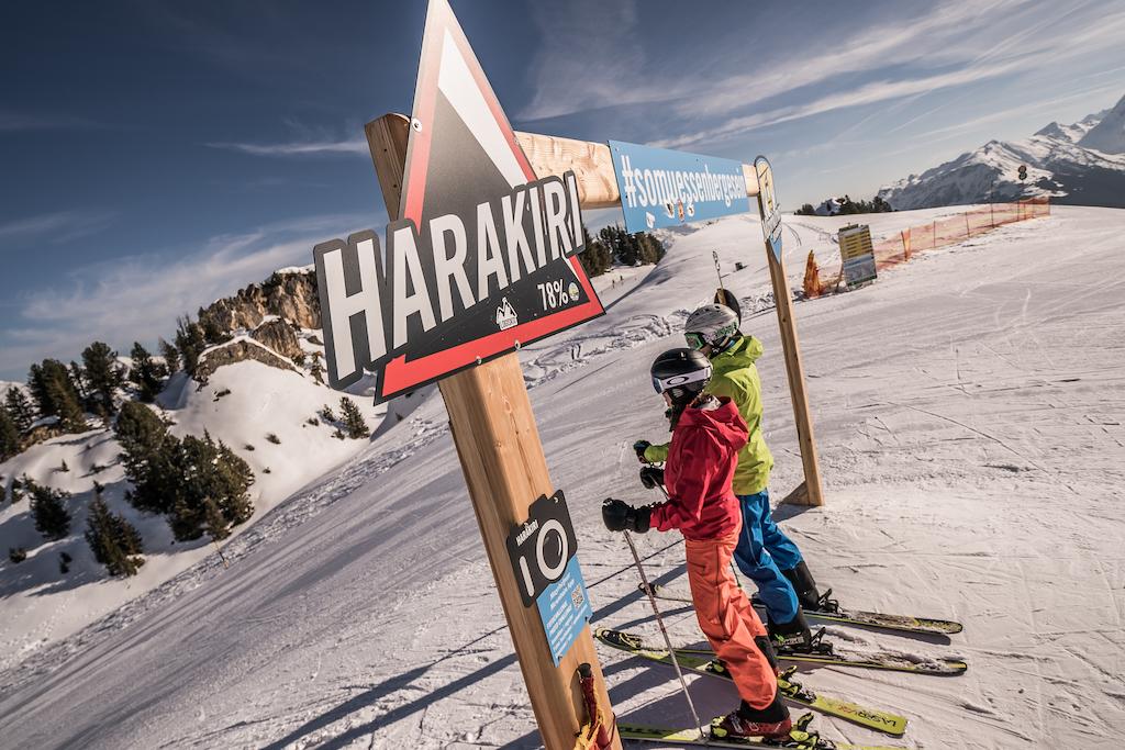 Harakiri piste Ski Zillertal 3000
