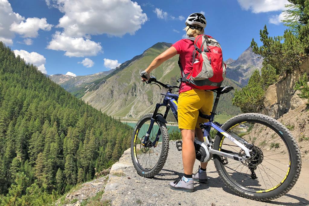Mountain biking in Livigno