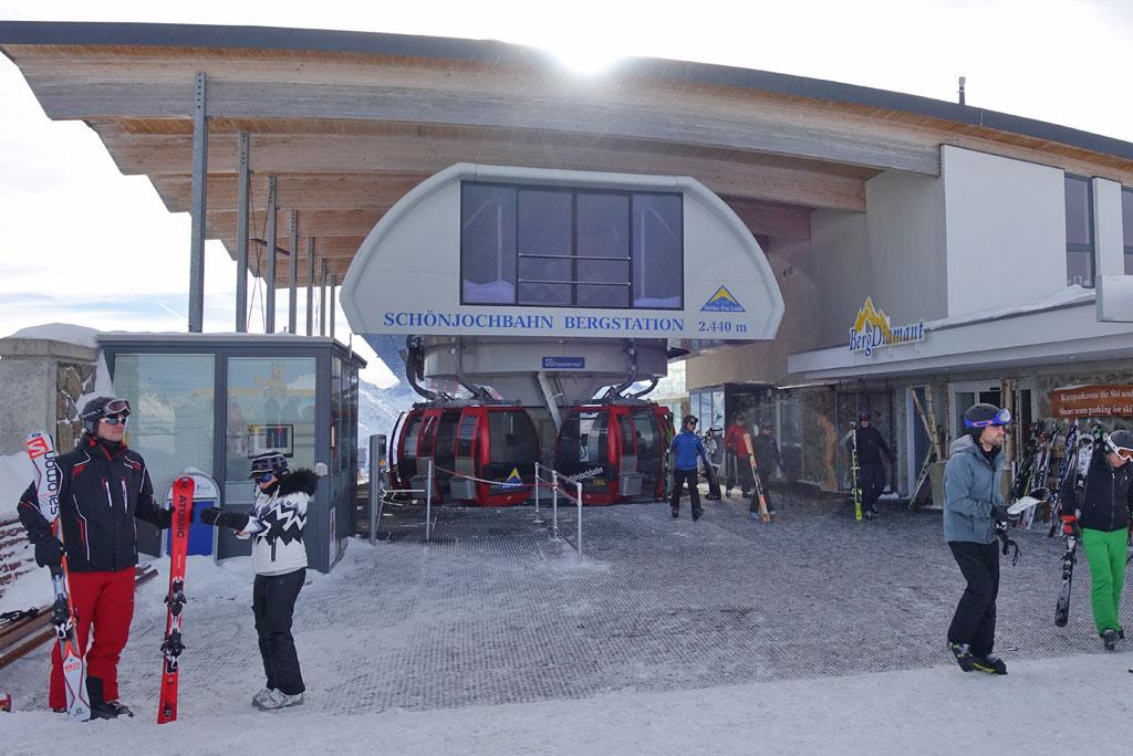 Middenstation Schönjochbahn