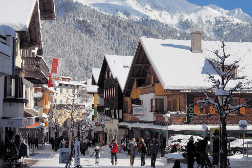 St. Anton village