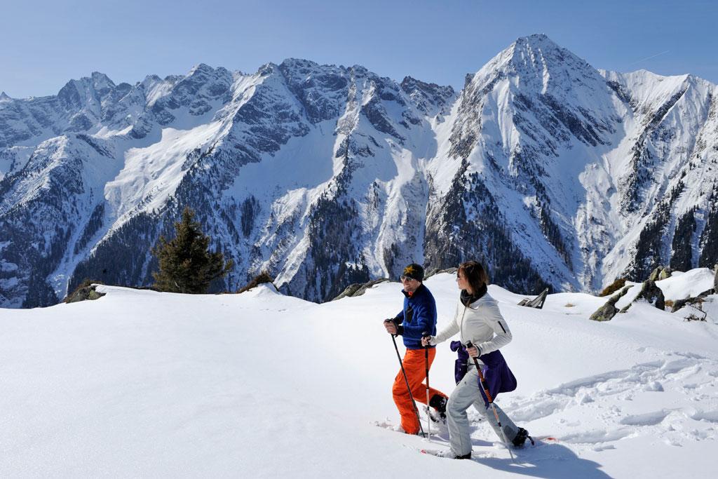 Sneeuwschoenwandelen Mayrhofen