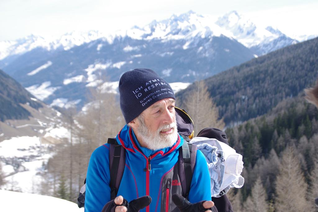 Older skier