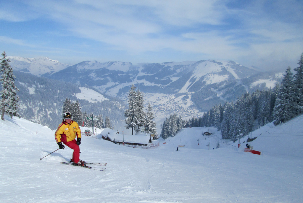 Foute ski-outfit