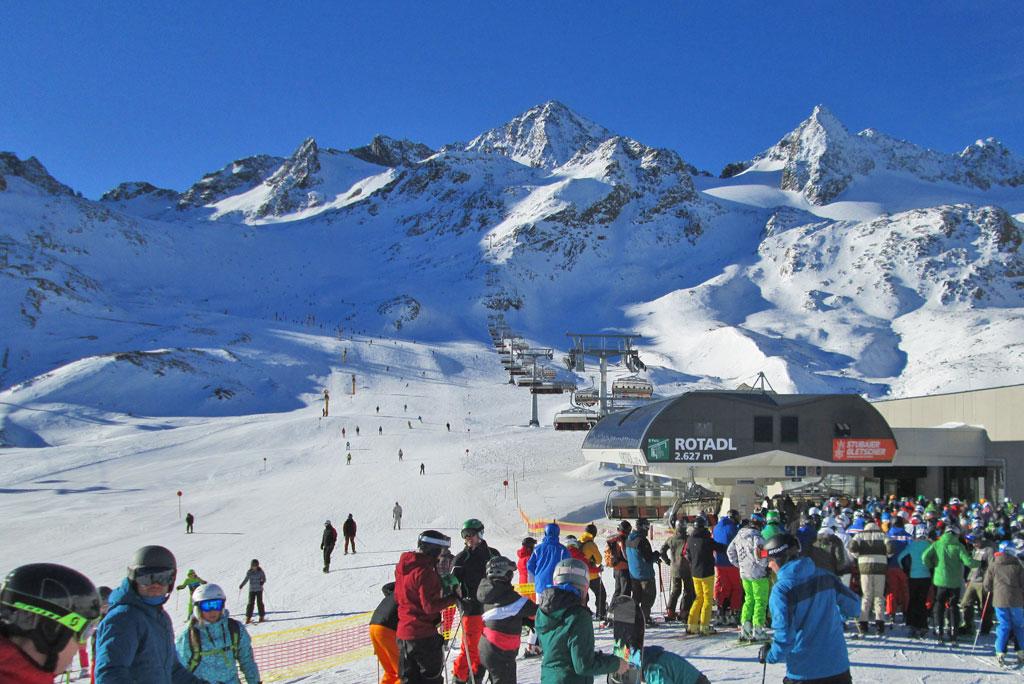 Rotadl stoeltjeslift Stubaier Gletscher