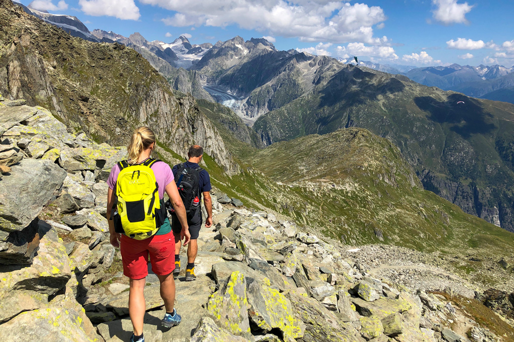 Wandelen in de bergen