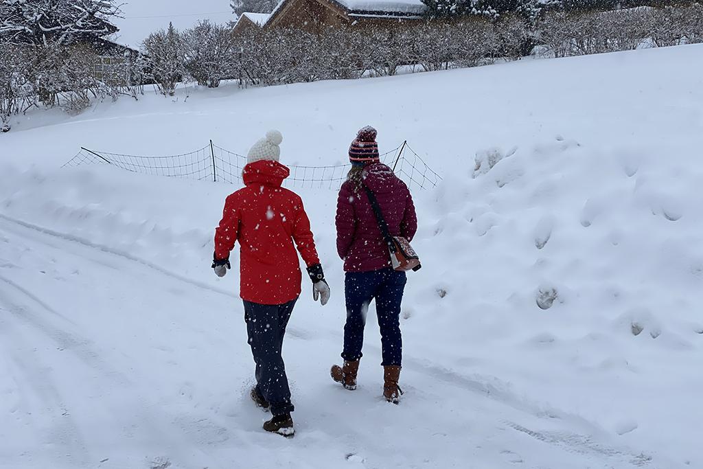wandeljas in de winter