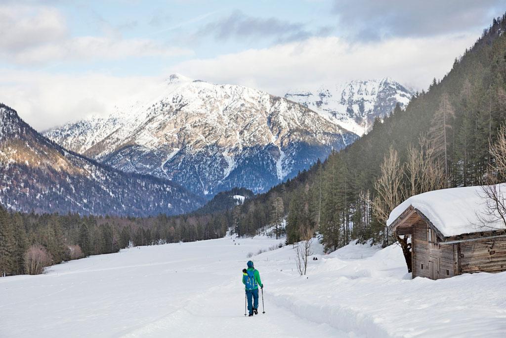 Winterwandelen op de Achensee