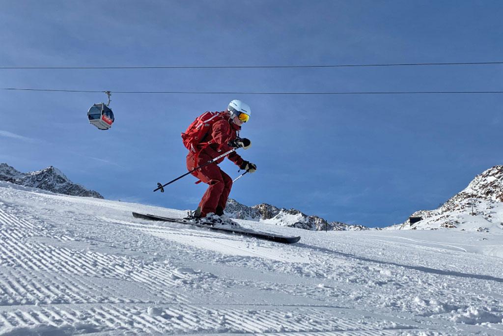 Skifahren Pitztaler Gletscher
