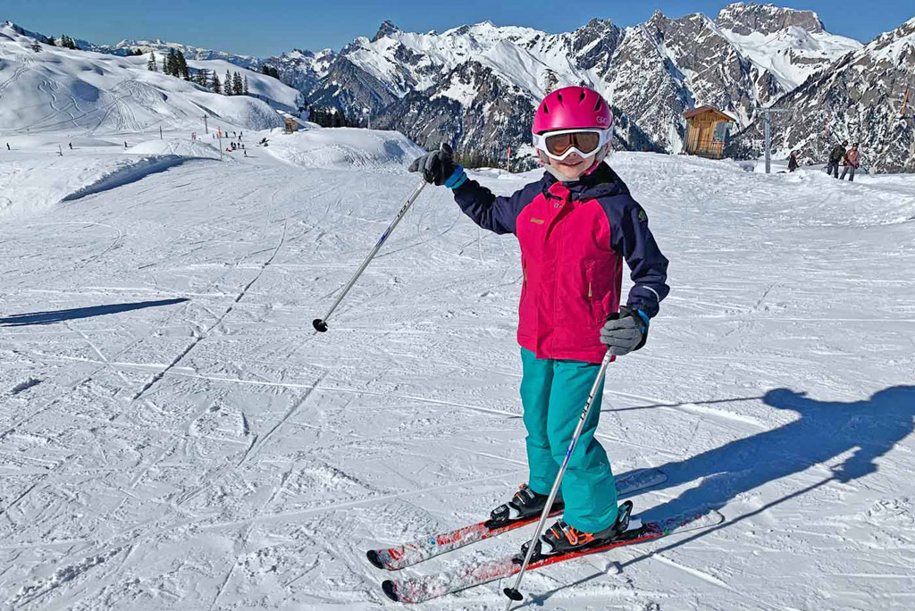 Ski outfit kind