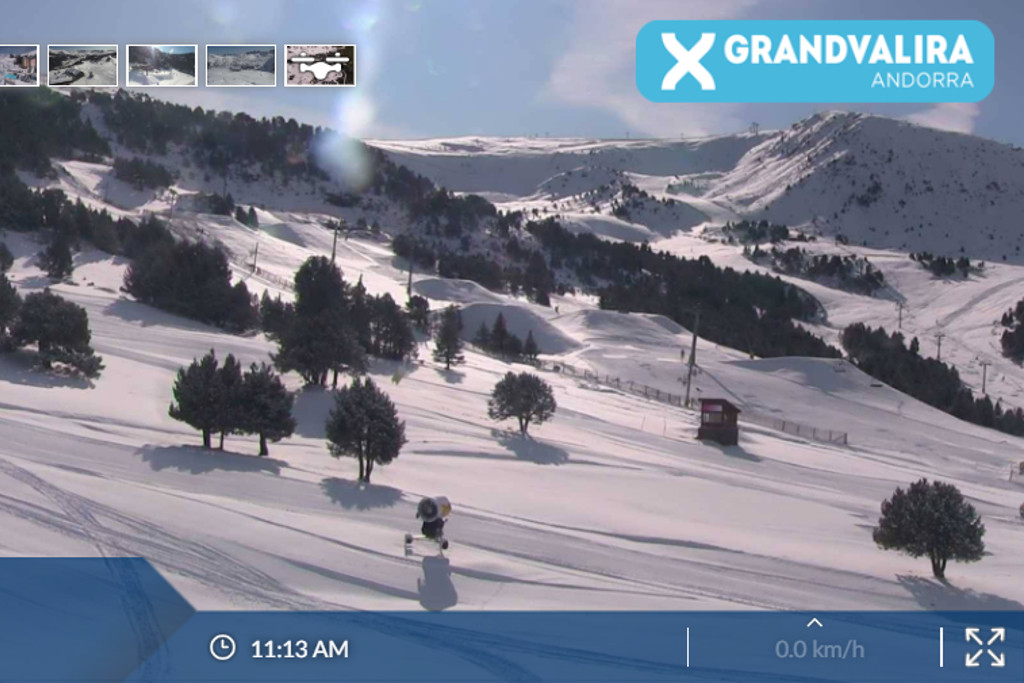 Grandvalira webcam