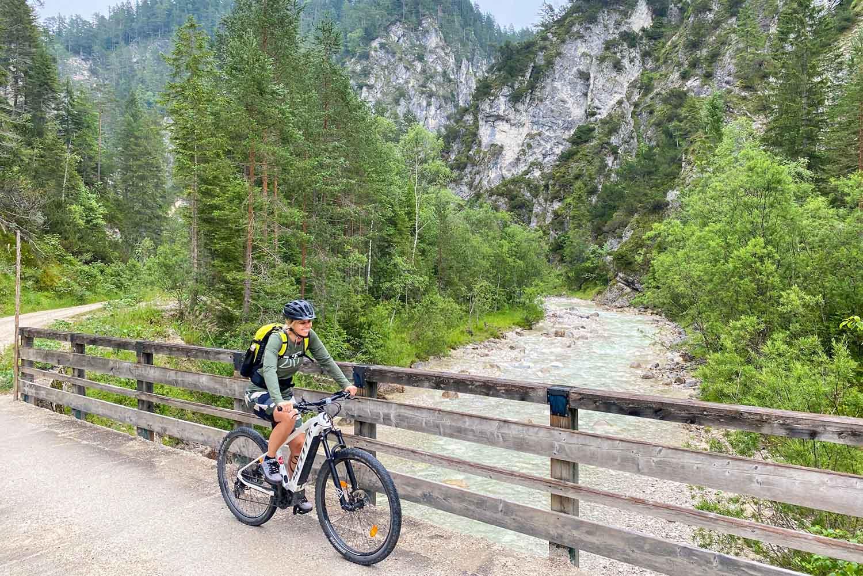 e-biken in de regio Achensee