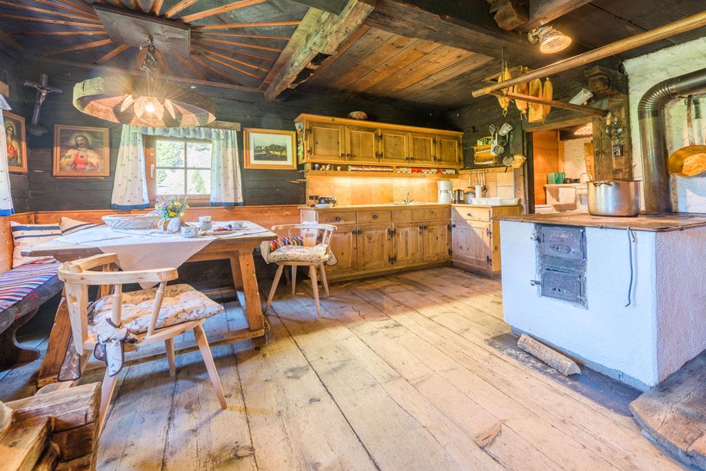 berghut keuken hout