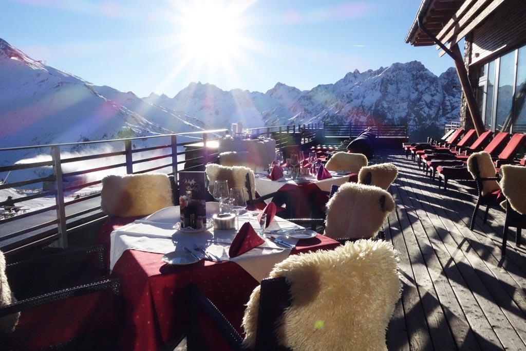 Restaurant Alpenhaus in Ischgl