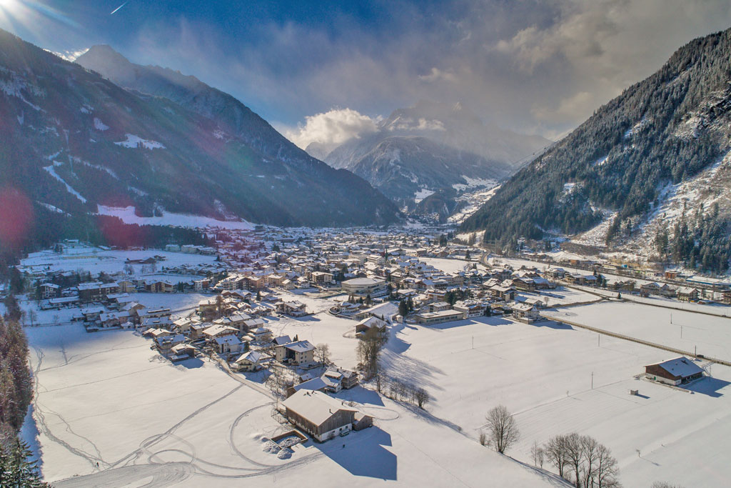 Dorpsaanzicht Mayrhofen