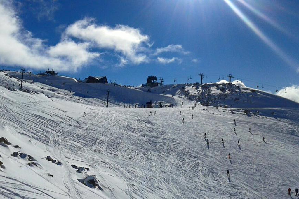 Skiing at Alta Patagonia