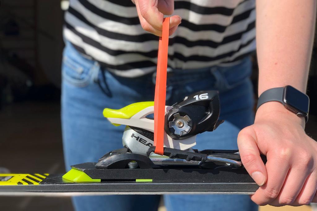Bindingen ski's controleren