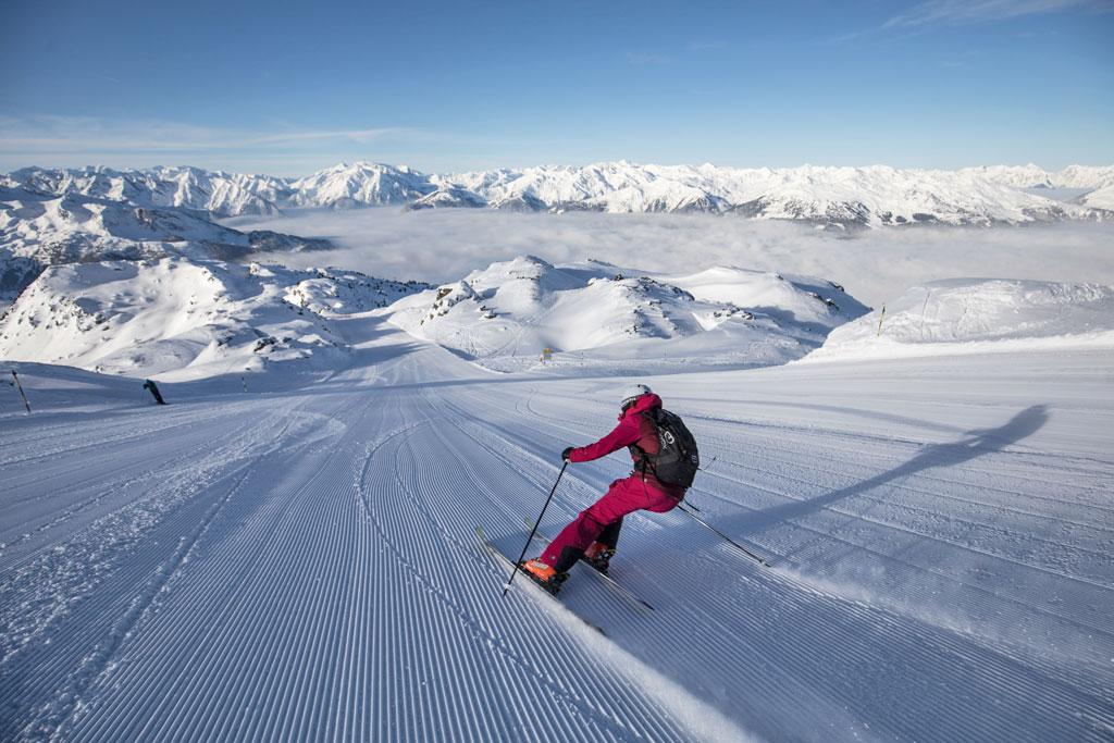 Skiën in Zillertal Arena
