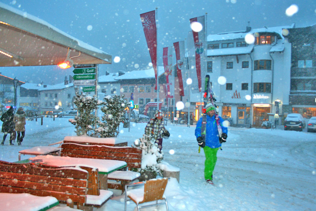 Verse sneeuw St. Anton am Arlberg