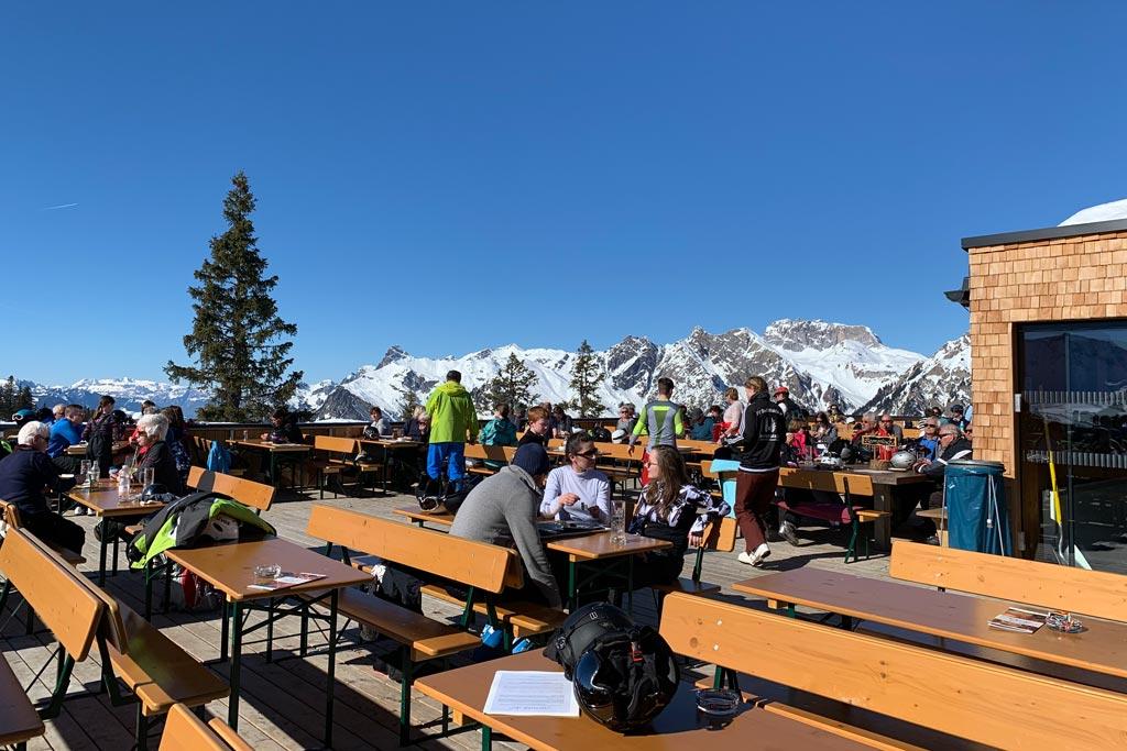 Bergrestaurant Sonnenkopf in Sonnenkopf