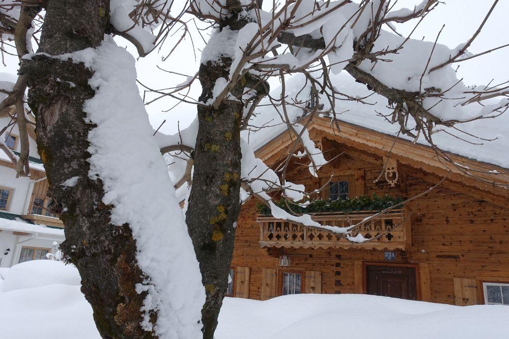 Chalet im Schnee