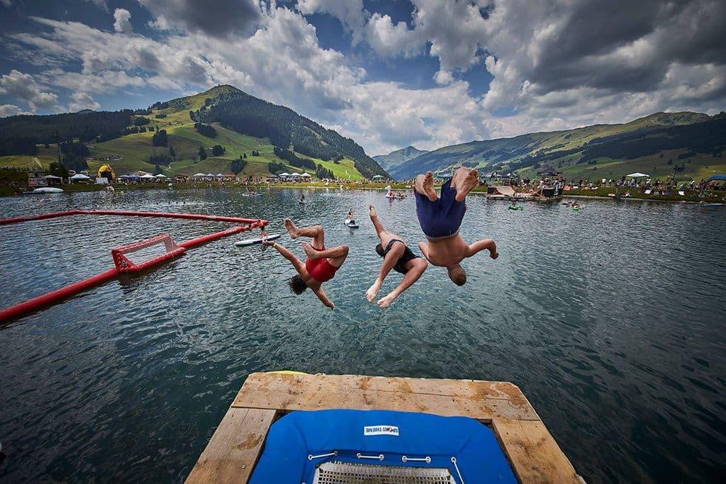 Lake of Charity in Saalbach
