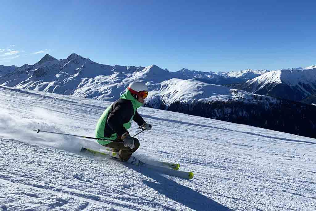 Skien in Davos