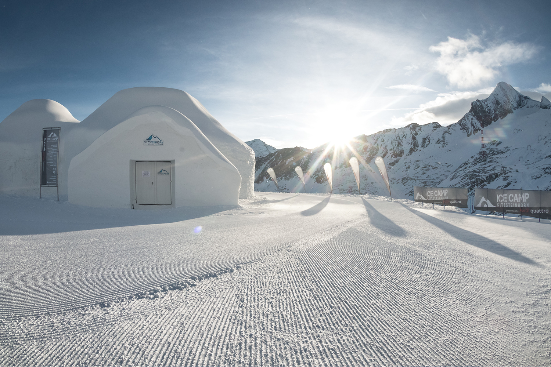 Iglus Ice-Camp Kitzsteinhorn