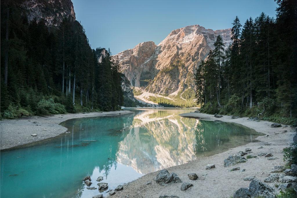 Lago de Braies Alto Adige
