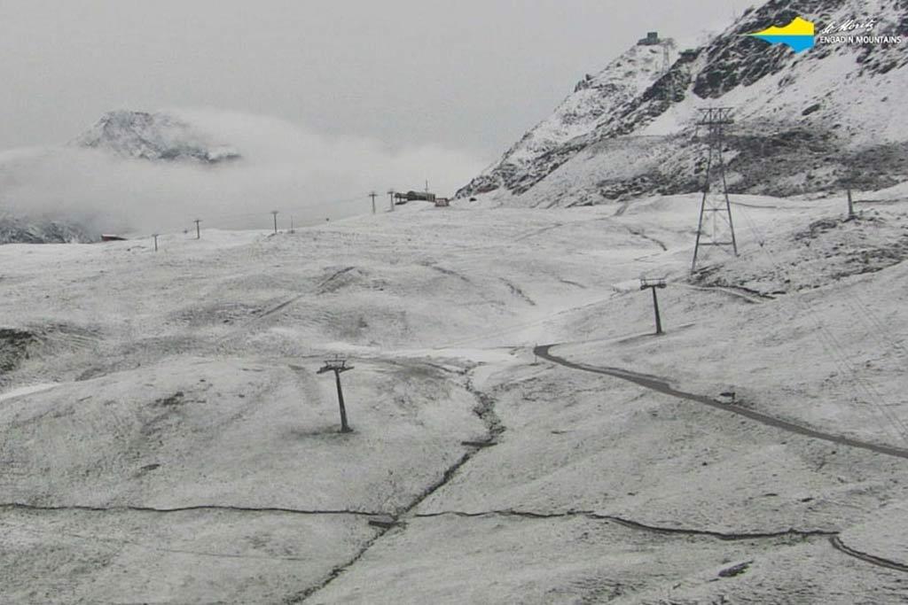 Sneeuw St. Moritz