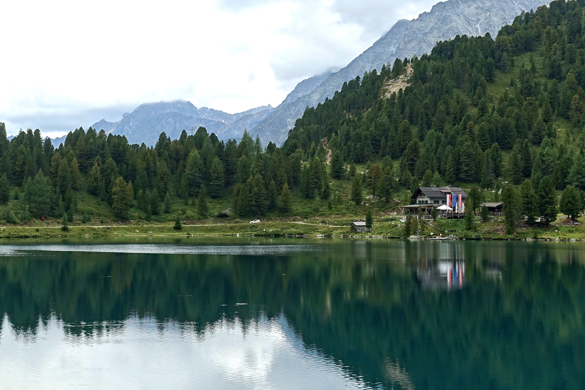De Obersee in Osttirol Oostenrijk