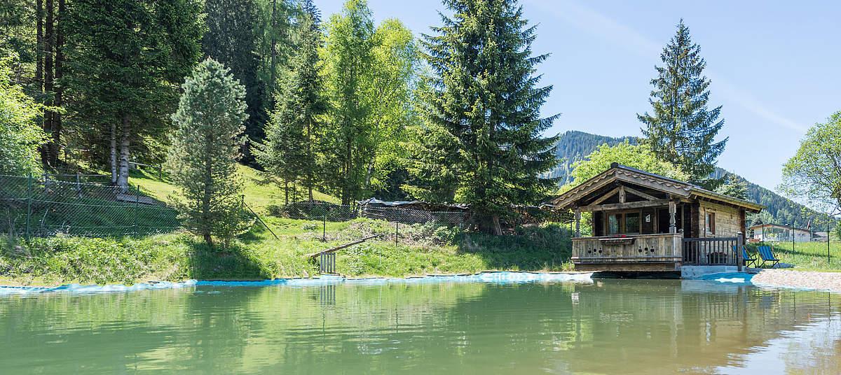 Berghut in Oostenrijk om zelf te huren aan het water