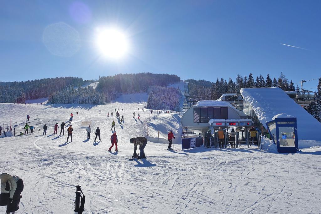 Skigebied Flachau