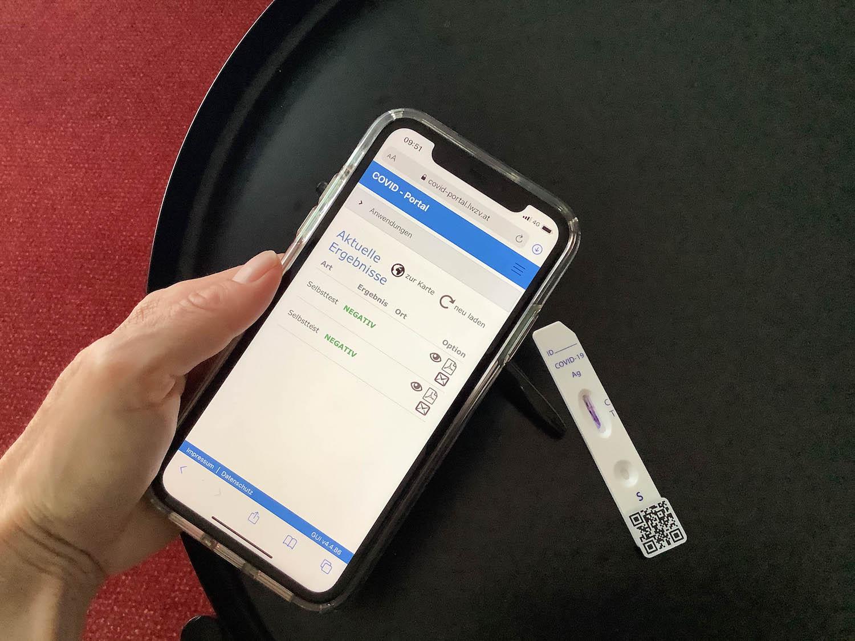Coronatest op je mobiele telefoon