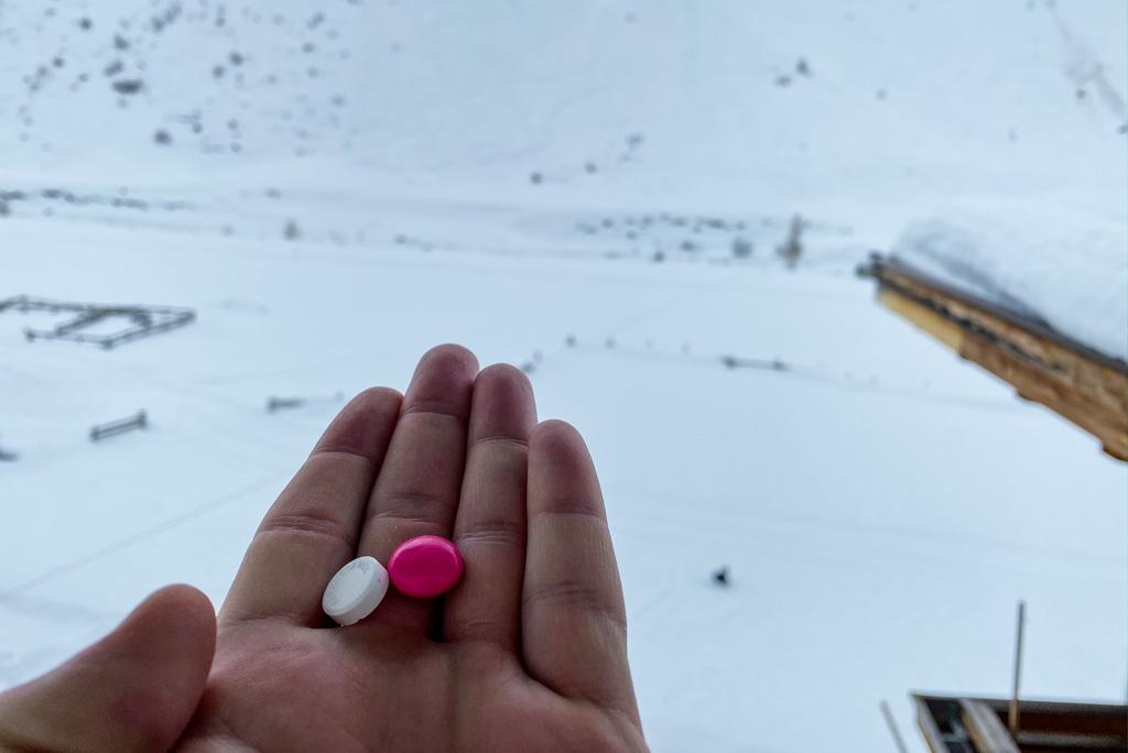 Pijnstillers wintersport