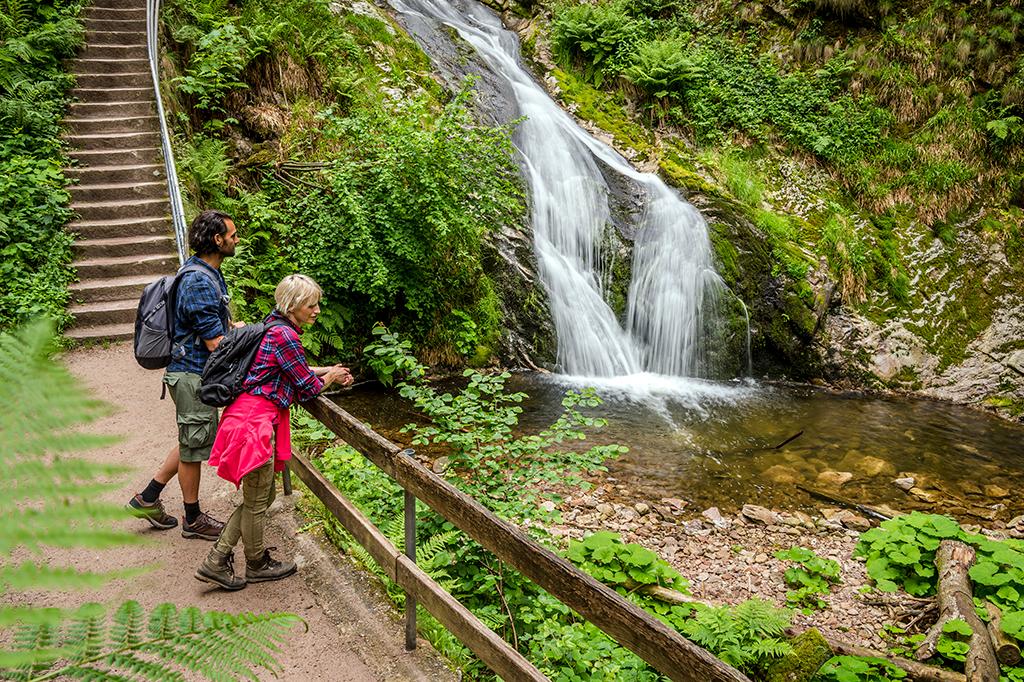 Wandelen en watervallen Zwarte Woud