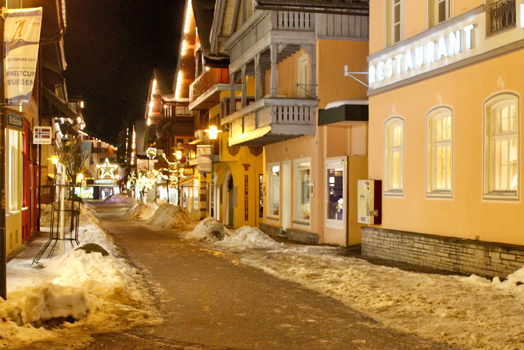 Autovrij centrum Oberstdorf