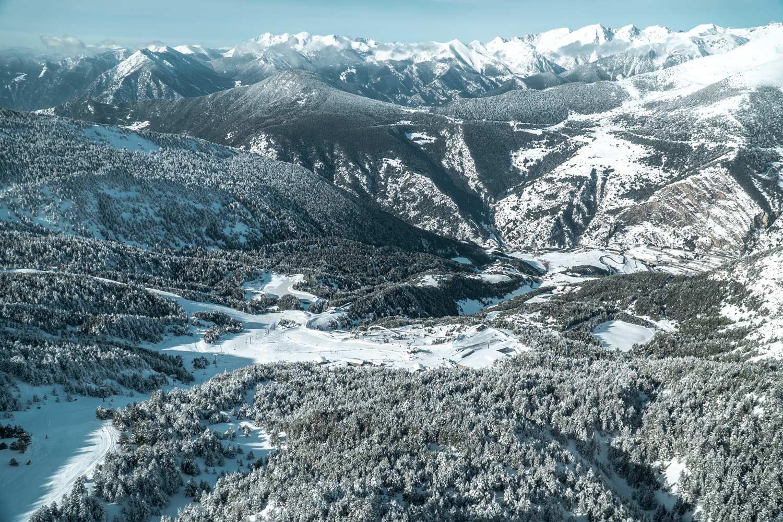 Wintersportland Andorra, skigebied GrandValira