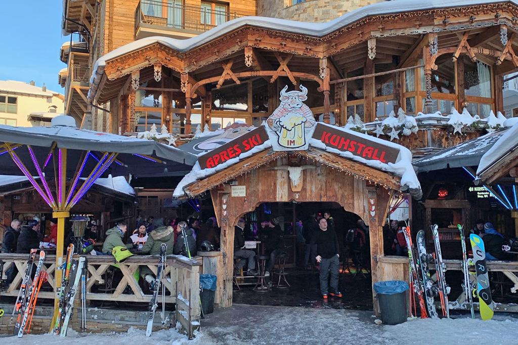 Terras apres-ski Kuhstall