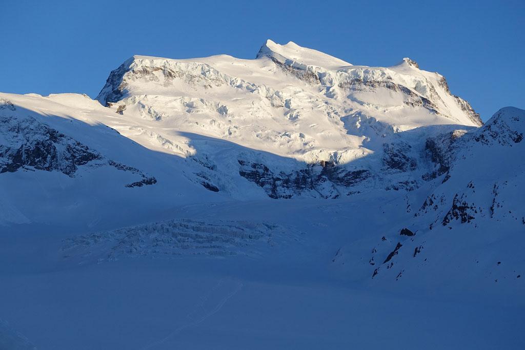 grand combin: hoogste bergen alpen