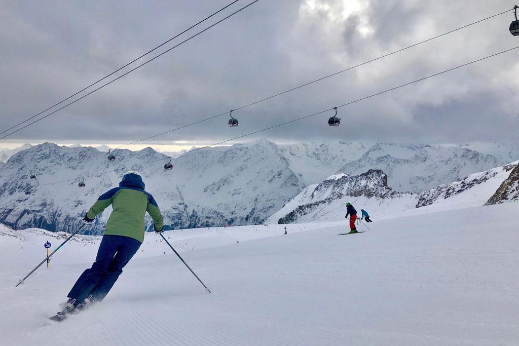 Skiën Sölden