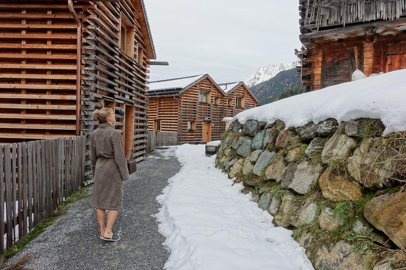 Chalets vom Hotel Bergwiesenglück