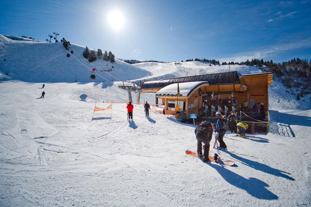 Chamrousse ski area