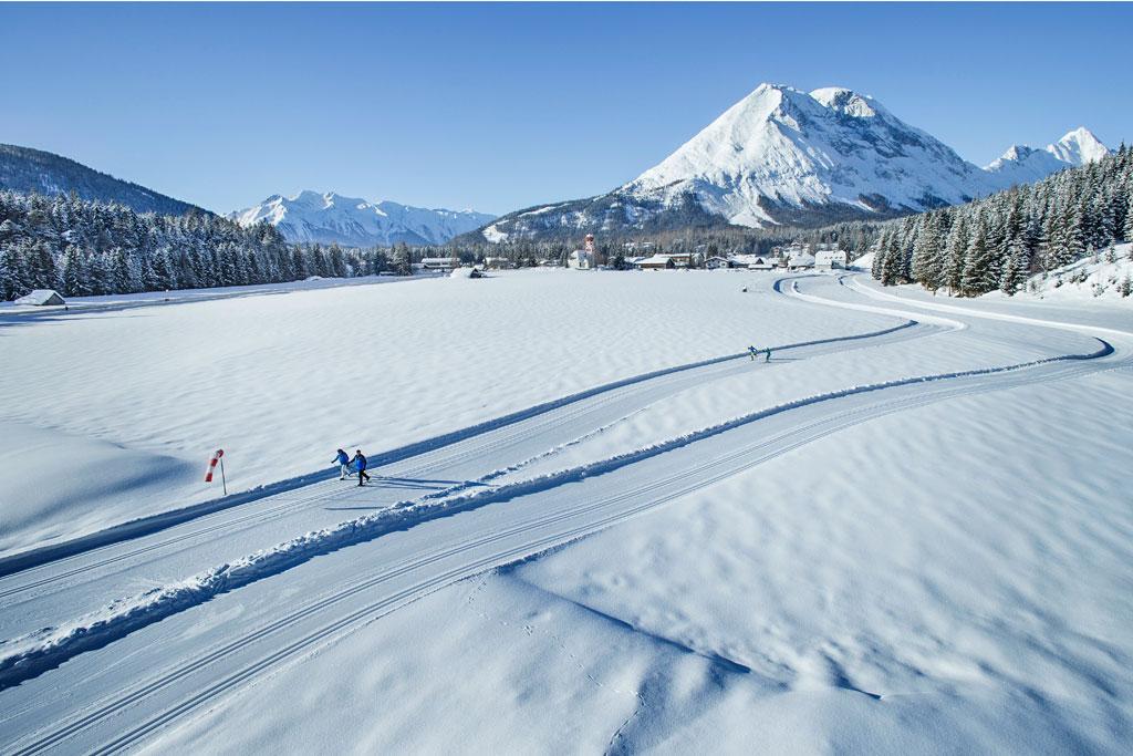 Langlaufen Olympiaregion Seefeld
