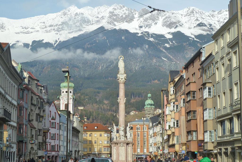 Innsbruck town centre